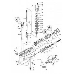 yamaha nautical spare parts Honda Outboard Motor Diagram 75cetol tlr b c 08 tl
