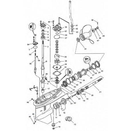 yamaha outboard steering controls omc steering wiring